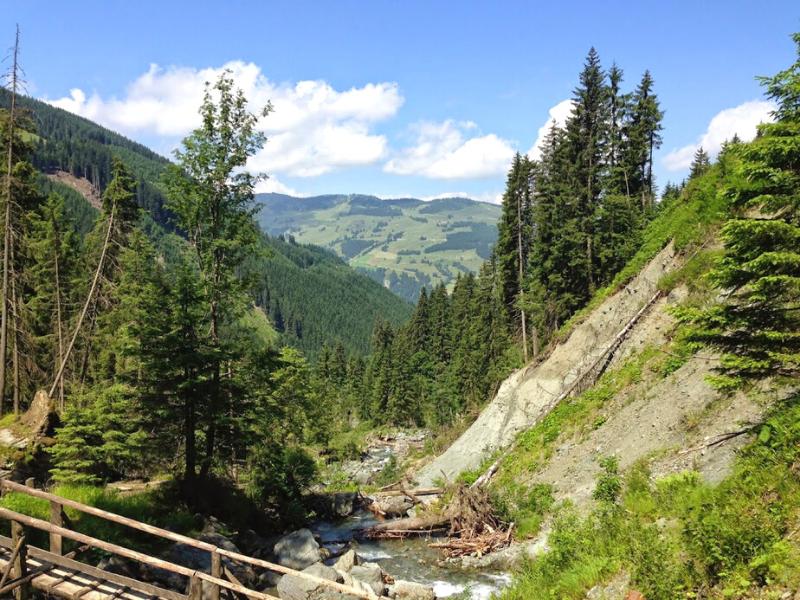 Sintersbacher vandfald kitzbühel