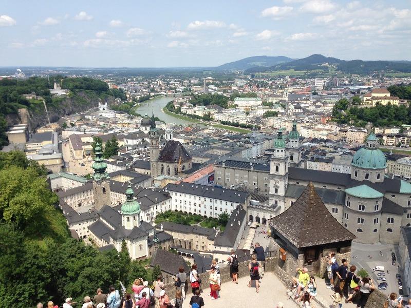 Salzburg Østrig Sommer