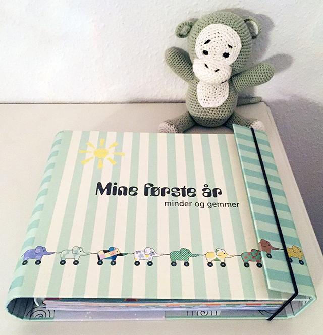 barnets bog mine første år minder og gemmer