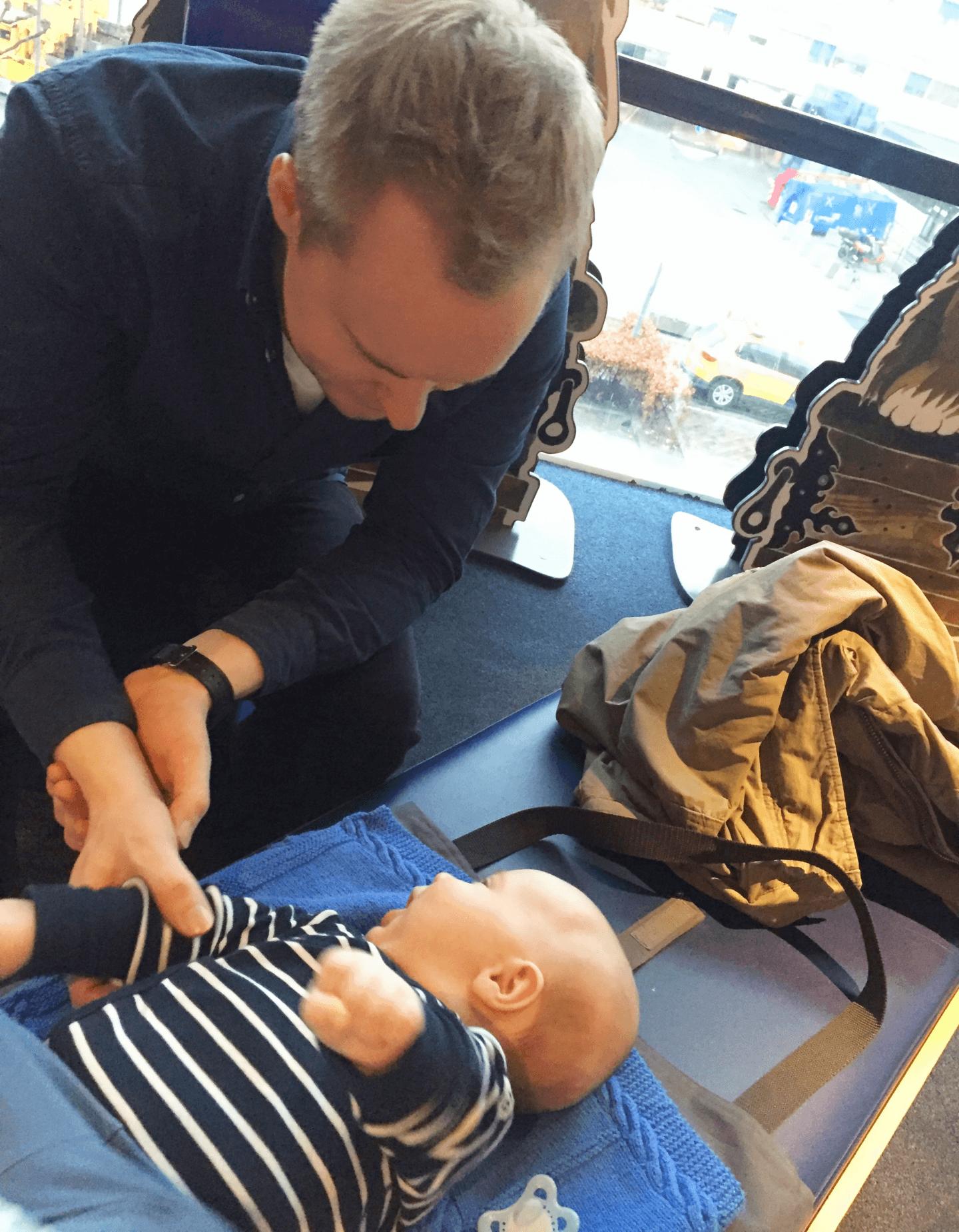gode råd til at flyve med baby