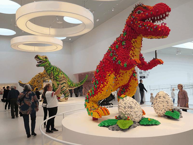 Lego House Dinosaurer