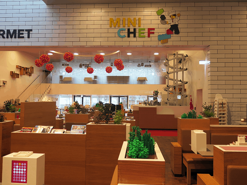 Lego House restaurant Mini Chef