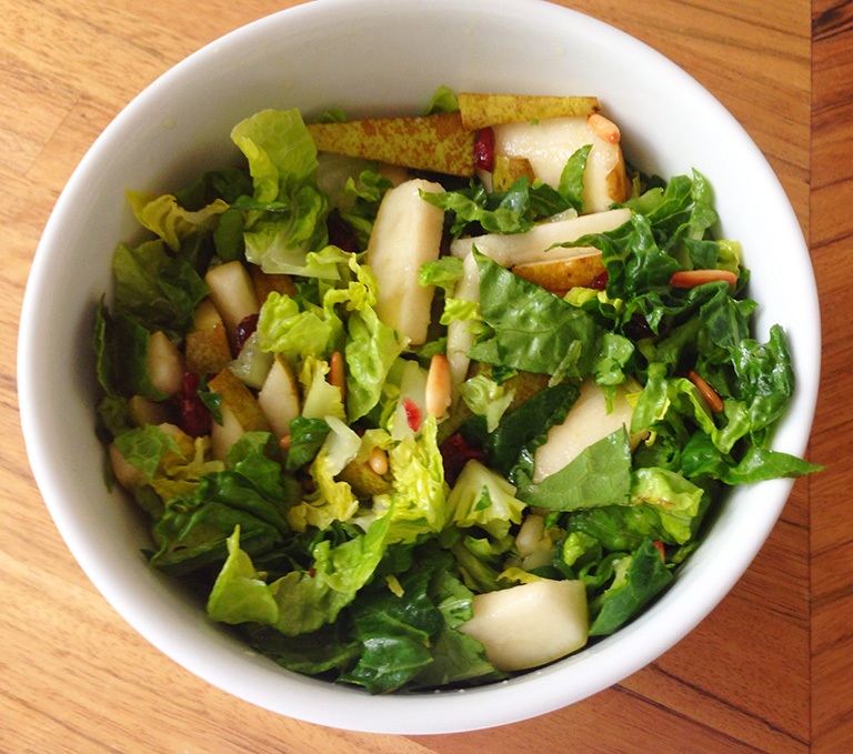 opskrift på pæresalat