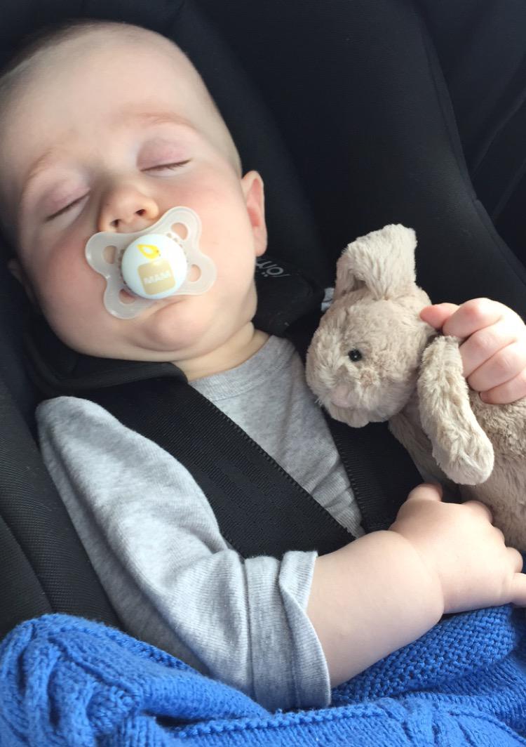 tips til den lange køretur med baby