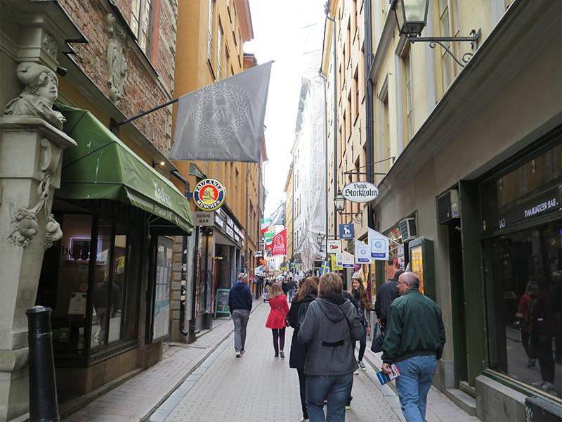 smalle gader gamla stan stockholm