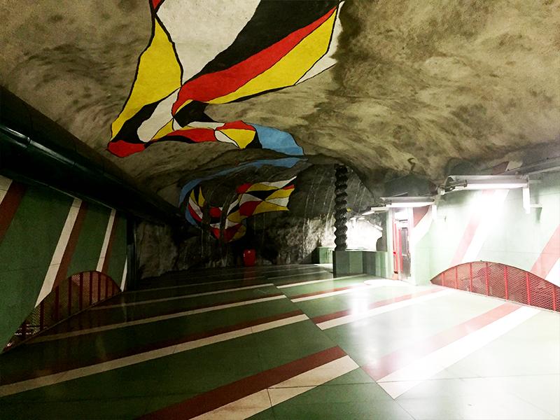 kunst stockholm metro tunnelbana