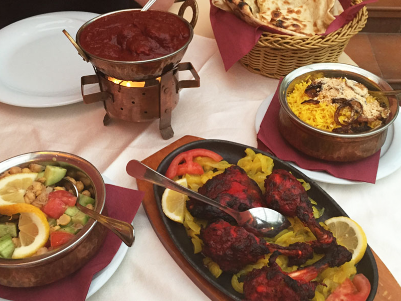 indisk restaurant sofia