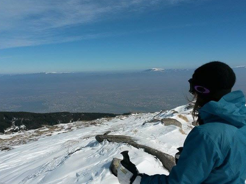 vitosha mountain sofia ski