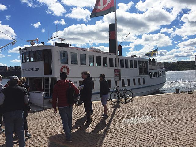 sejl til dronningholm slot