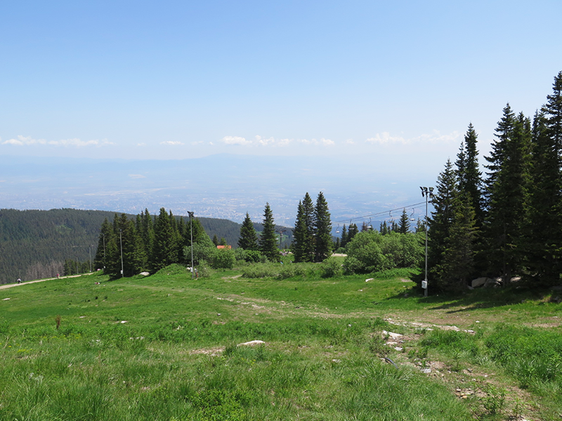 vitosha mountain sofia sommer