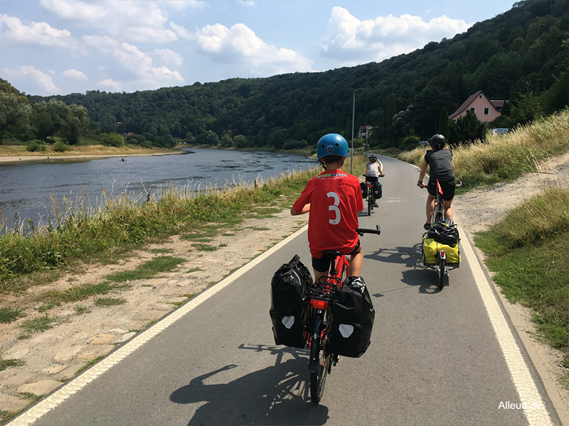 cykelferie med børn
