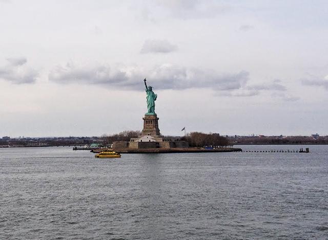 Frihedsgudinden new york