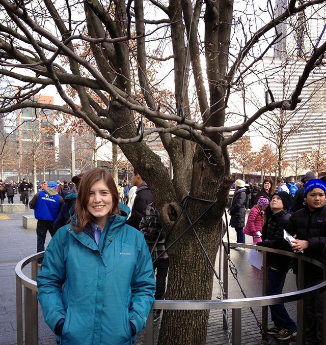 Survivor Tree world trade center 9/11 memorial new york