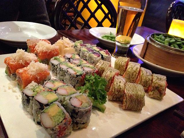 Sushi på Wild Ginger New York