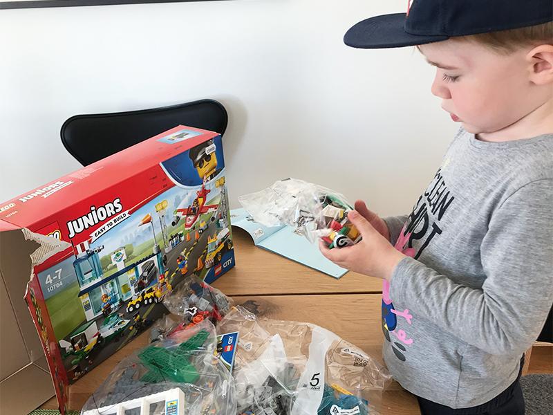 blefri lego junior belønning