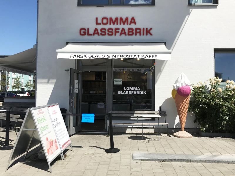 lomma glassfabrik sveriges bedste is