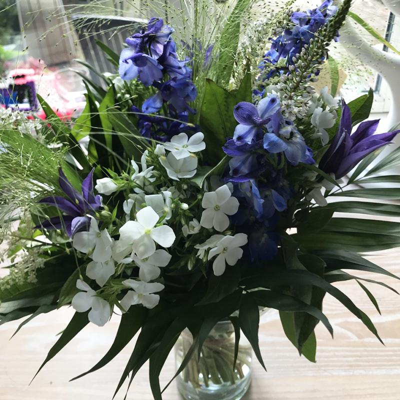 god bedring blomster